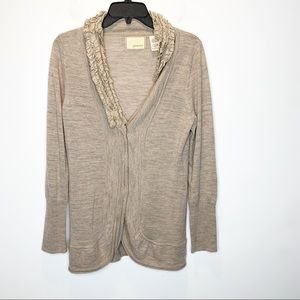 Guinevere | Anthro | Button Up Wool Cardigan